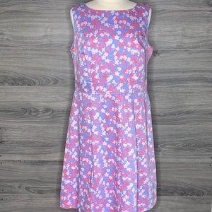 Brooks Brothers Floral Sheath Dress Size 16